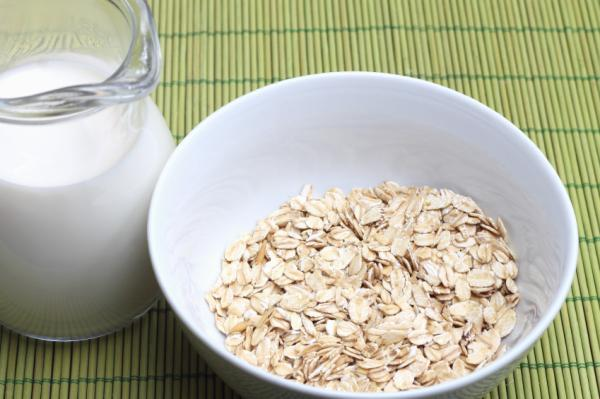 Alimentos para aumentar masa muscular - Avena