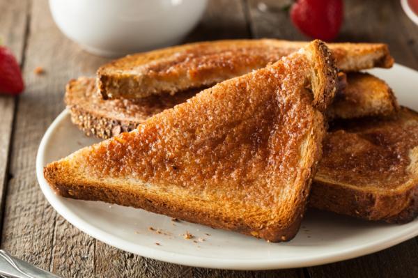 Alimentos que contienen acrilamida - Lista de alimentos con acrilamida