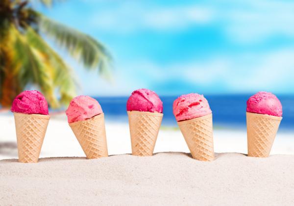 ¿Pueden comer helados los bebés? - De qué está hecho un helado