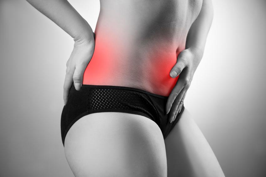 dolor abdominal y de espalda baja