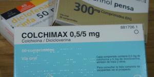 ¿Se puede tomar colchicina y diclofenaco?