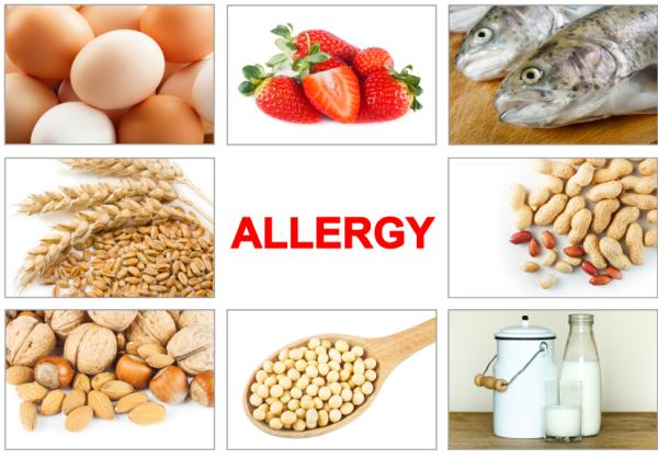 Por qué me duele el ombligo - Alergias e intolerancias alimentarias