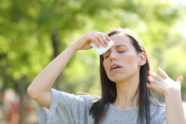 Sensación de calor en el cuerpo: causas y tratamiento