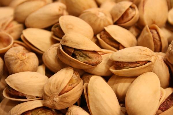 Lista de frutos secos que menos engordan - Pistachos, frutos secos con menos calorías