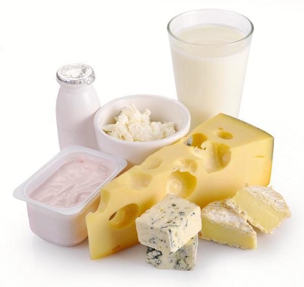 Alimentos malos para el colesterol - Lácteos y sus derivados enteros