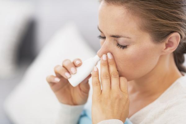 Nariz inflamada por dentro: causas, tratamiento y remedios - Tratamiento médico de la nariz inflamada por dentro