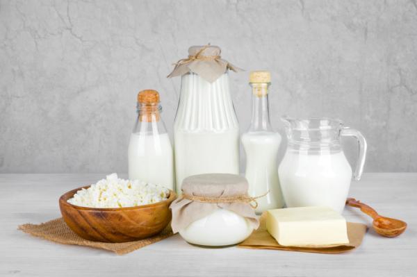 Alimentos que activan la melanina - Lácteos para la falta de melanina