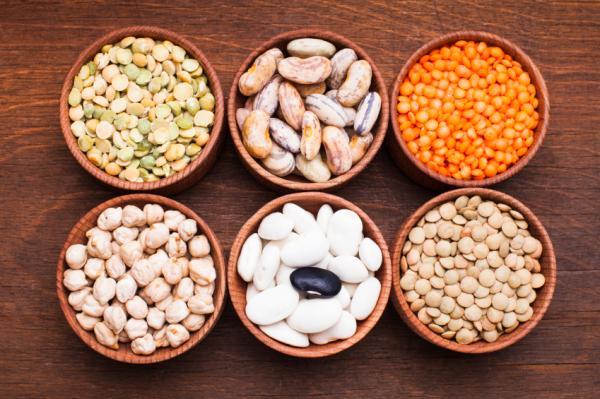 Alimentos con glutamina - lista muy completa - Lácteos y legumbres, una manera saludable de obtener L-glutamina