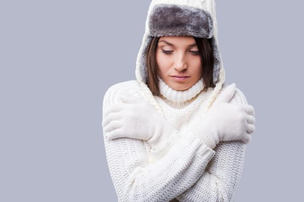 Por qué me dan escalofríos de repente - Exposición a temperaturas bajas, produce pérdida de calor corporal