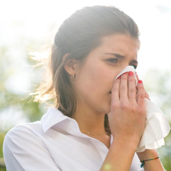 Conductos nasales congestionados