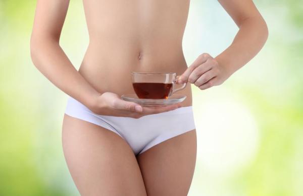 6 Chás para descer a menstruação