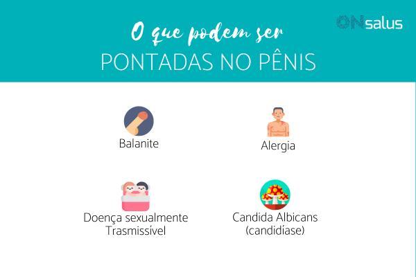 Pontadas no pênis: o que pode ser - Pênis e glande