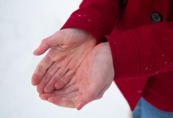 quando a mão esquerda formigando