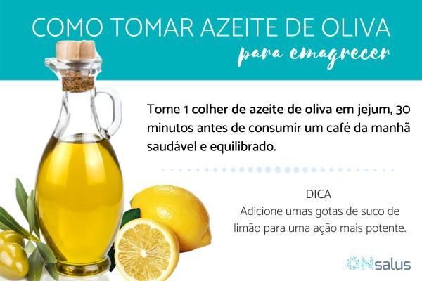 Azeite de oliva emagrece? Benefícios e como tomar