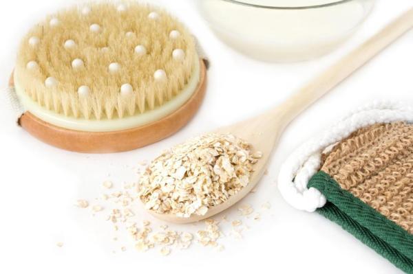 Como fazer um esfoliante caseiro para o rosto - Máscara esfoliante facial caseira para a pele seca
