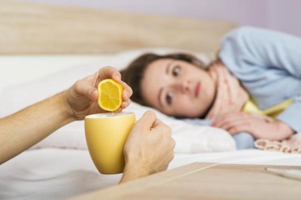 Benefícios do limão para saúde - Antiviral contra catarros e inflamações na garganta